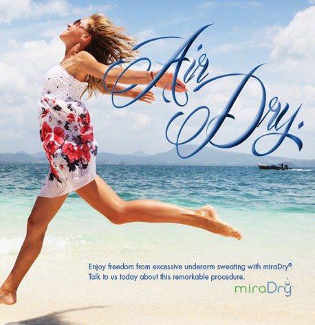 miraDry - No More Sweat