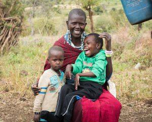 Rwanda African family